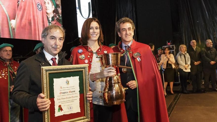Edurne Pasaban, una 'Orujera Mayor' con catorce 'ochomiles'