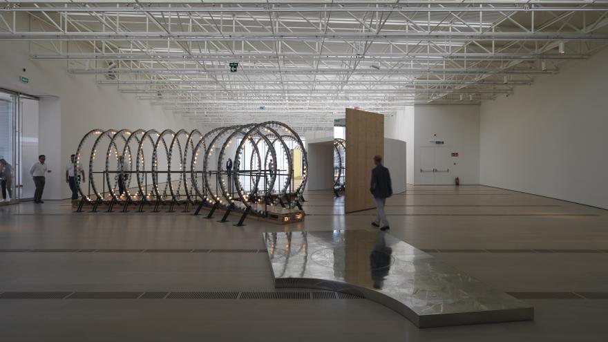 La Fundación Botín ha elegido la exposición 'Y' del artista belga Carsten Höller para la inauguración del CB. | Enrico Cano