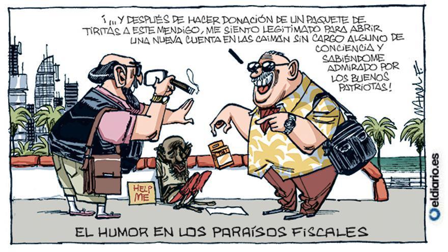 El humor en los paraísos fiscales