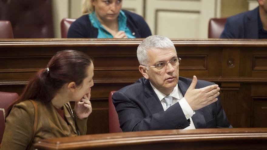 Manuel Marcos, ponente socialista de la ley de islas verdes.