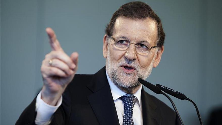 """Rajoy dice que Rivera """"apoyará a Pablo Iglesias"""" si no le quiere a él"""
