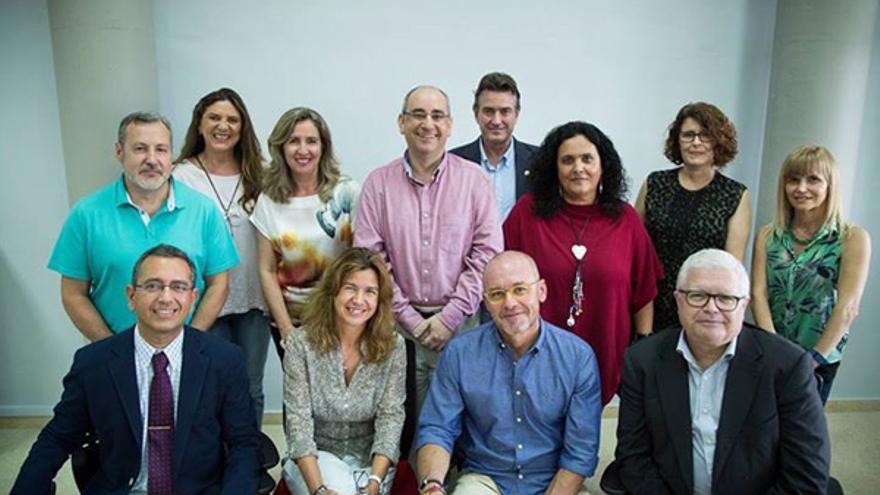 Equipo de la candidatura de Eduardo Galván a rector de la ULPGC