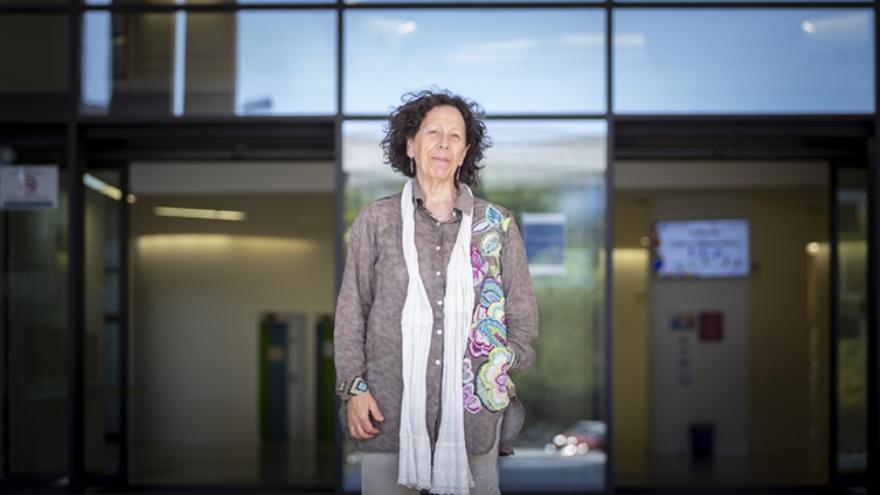 Teresa Fernández, representante de Igualdad de la Facultad de Educación de la Universidad de Zaragoza.