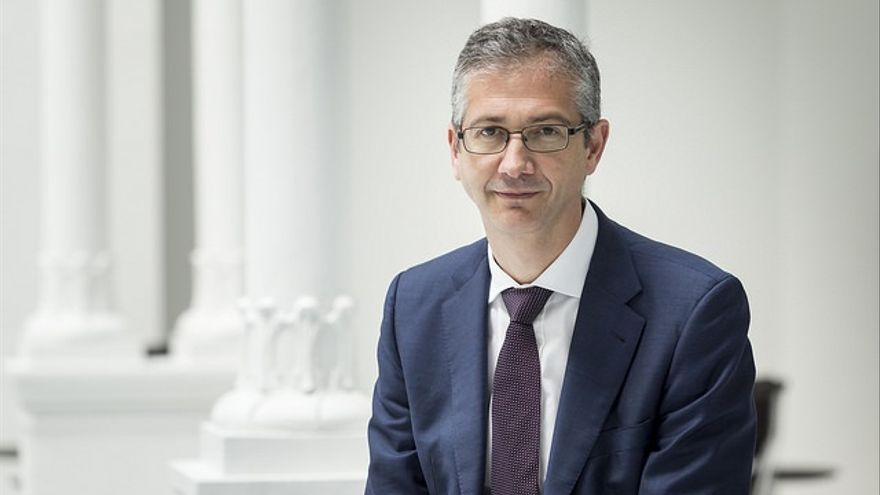 Pablo Hernández de Cos, gobernandor del Banco de España.