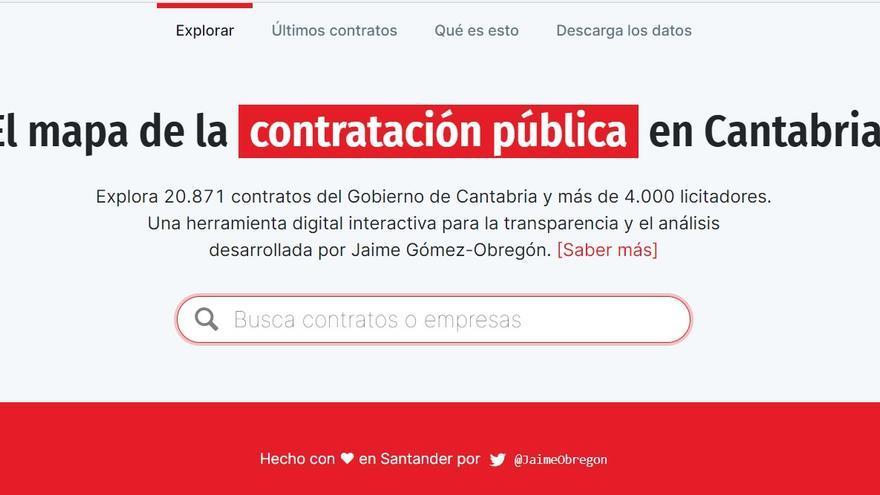 Web contratosdecantabria.es