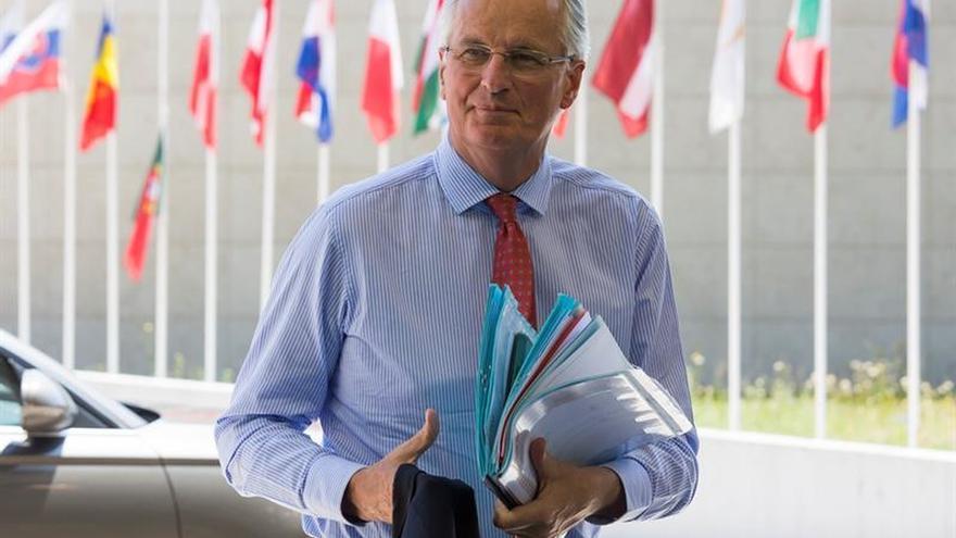 Barnier advierte al Reino Unido de que los tres puntos prioritarios son inseparables