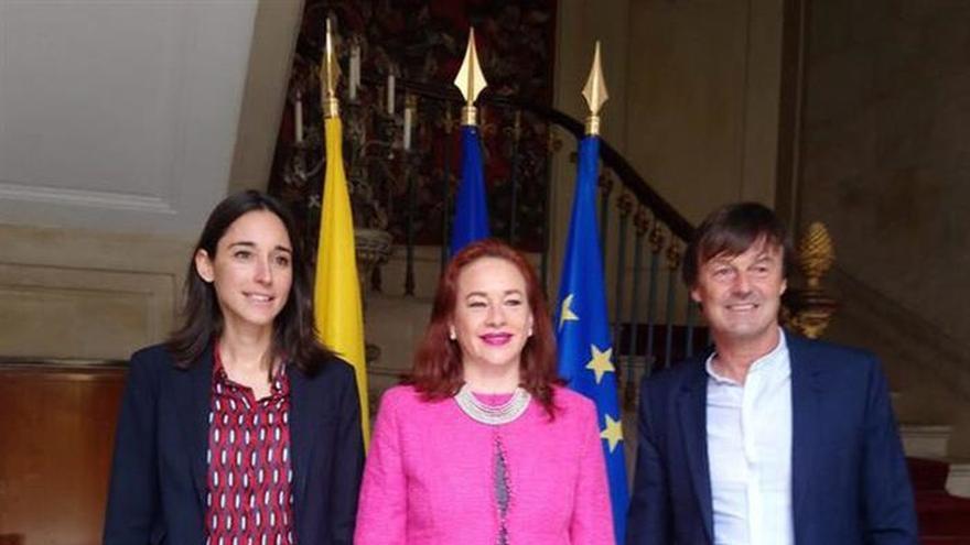 Ecuador y Francia subrayan su compromiso para combatir el cambio climático