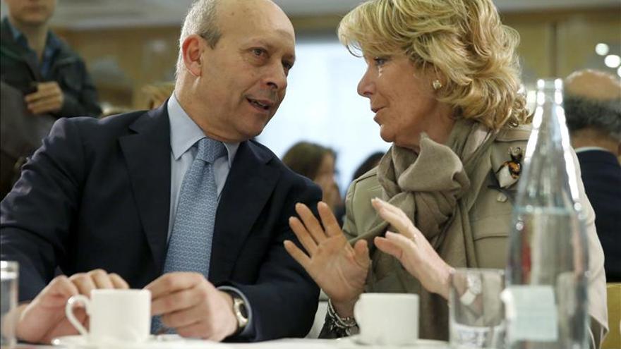 """Esperanza Aguirre dice que no ha cometido """"el error de despistar"""" a sus electores"""
