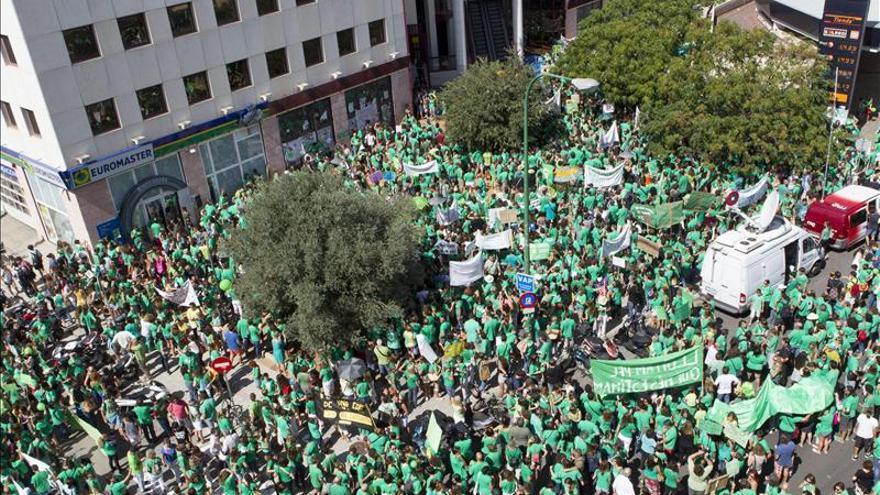 Los profesores de Baleares comienzan hoy la segunda semana de huelga