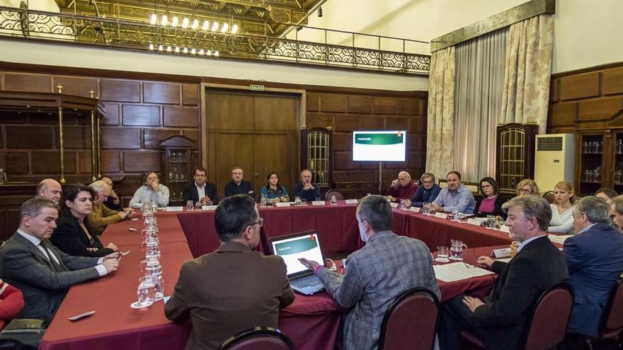 Primera reunión del proceso de participación para la Oficina Municipal contra la corrupción..