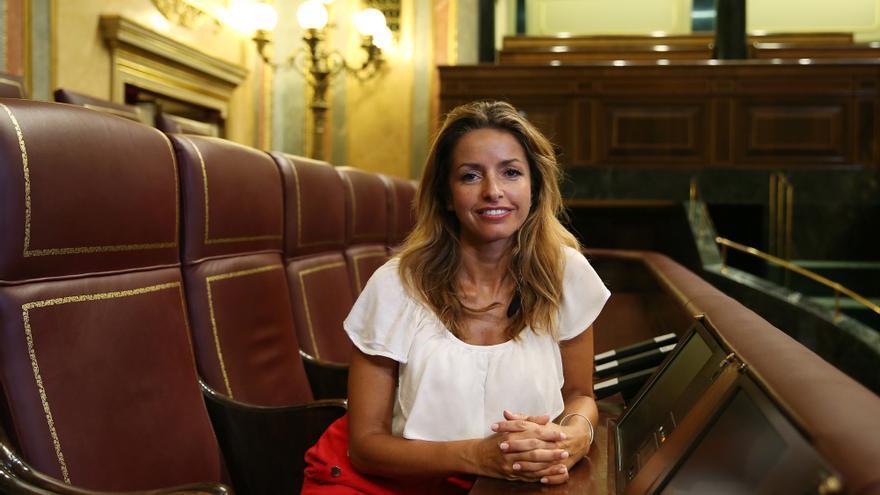 Patricia Reyes, diputada de Ciudadanos y secretaria en la Mesa del Congreso