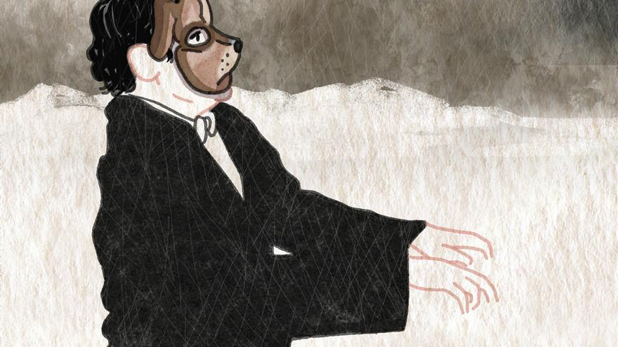 Glenn Gould por Sandrine Revel