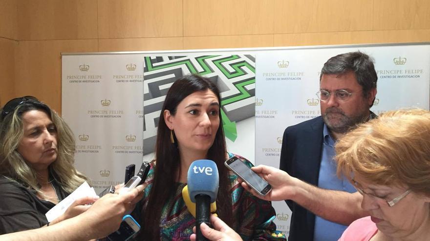 La consellera de Sanitat, Carmen Montón