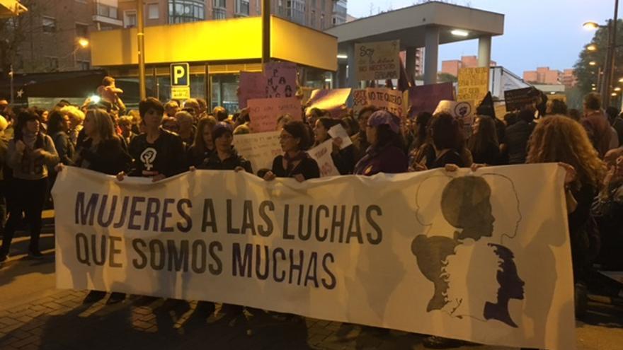 Manifestación por el Día Internacional de la Mujer en Murcia/ Noemí López
