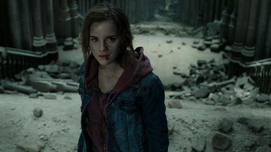 Hermione, interpretada por Emma Watson