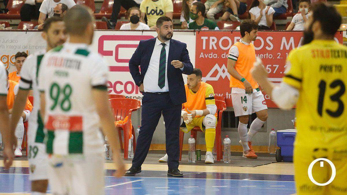 Josan González, en el duelo con el UMA Antequera.