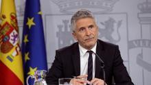 Marlaska anuncia subidas de sueldo en la Guardia Civil y niega que el cese de Pérez de los Cobos se deba al informe del 8M