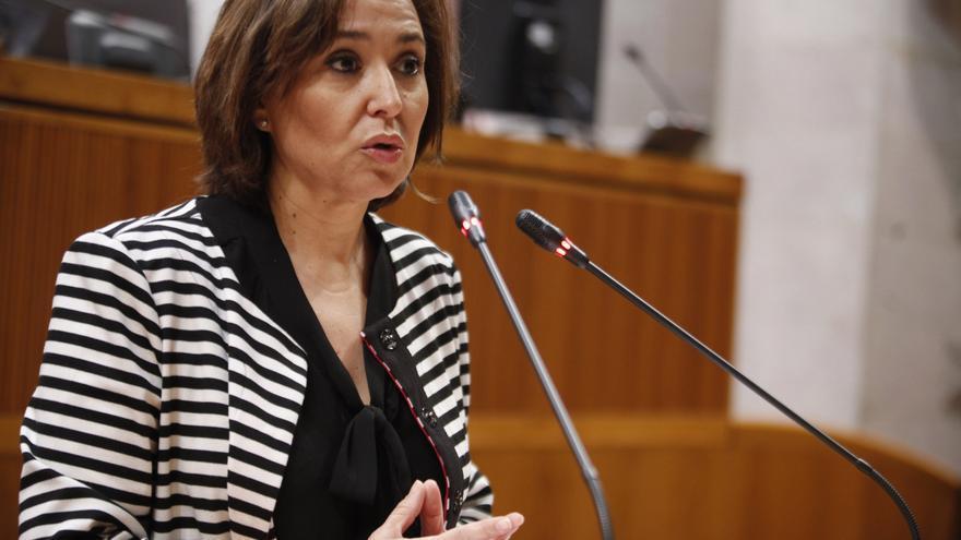 La consejera de Educación, Mayte Pérez.