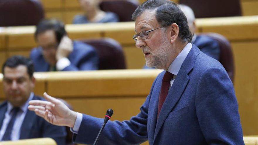 Rajoy aconseja a la Generalitat huir de la CUP porque no lleva a ningún sitio