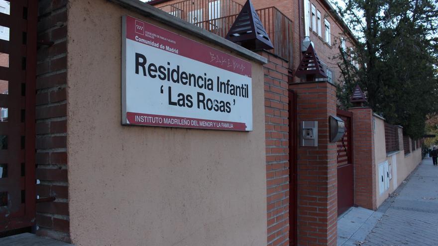 La residencia infantil de 'Las Rosas' en Madrid acoge a 33 niños tutelados por los servicios sociales /CM