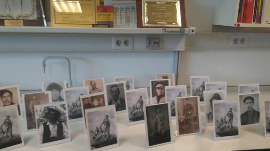 Fotografías de 22 personas asesinadas por la represión franquista en Guadalajara cuyos restos han sido entregados a sus familias