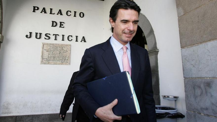 Imagen de archivo. Soria declara en el Tribunal Superior de Justicia de Canarias por el caso Salmon.