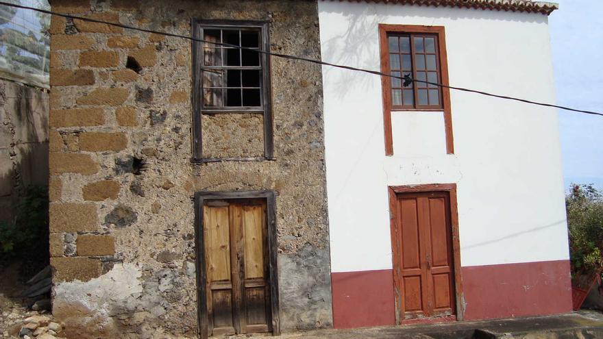 En la imagen, una casa rural de Barlovento.