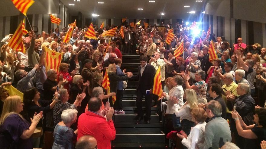 """Puigdemont advierte de que """"Rajoy tiene un problema que se llama Rajoy"""""""