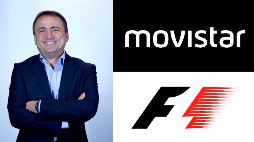 Julio Morales regresa a la Fórmula 1 de la mano de Movistar