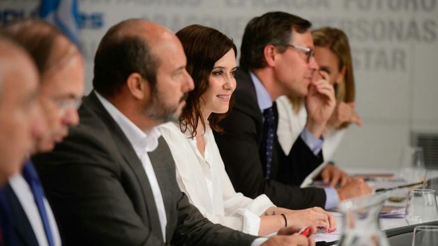 Reunión del Comité Ejecutivo Autonómico del PP tras las elecciones del 26M. / PP
