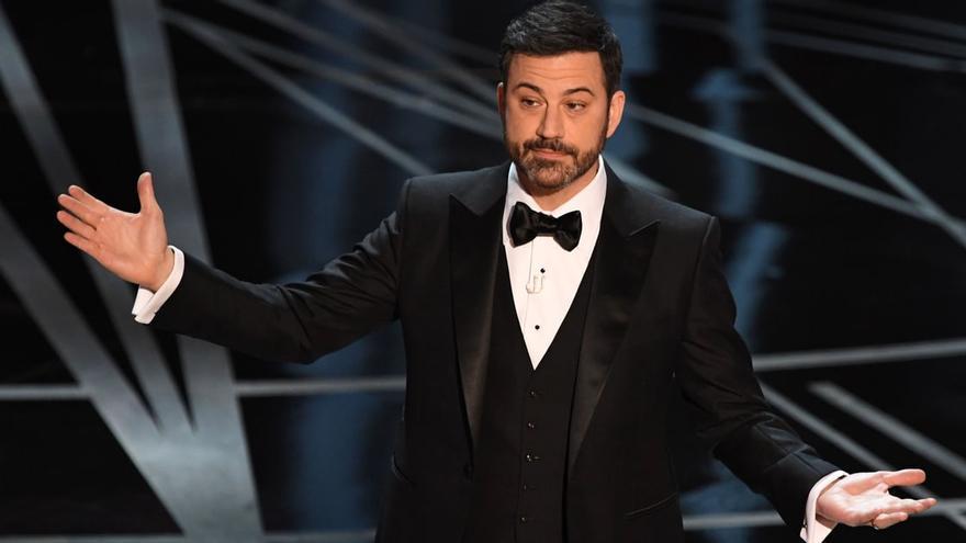 Jimmy Kimmel, durante la gala de los Oscar 2017