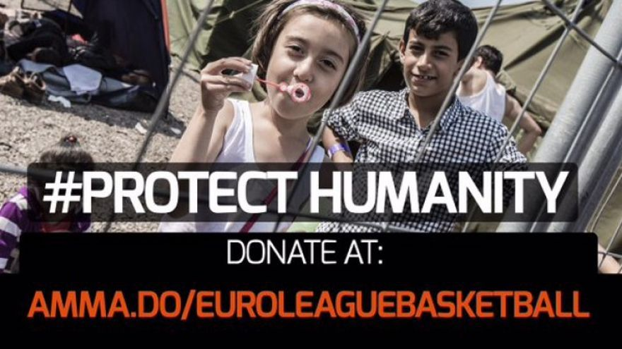 Cartel del proyecto #ProtectHumanity.