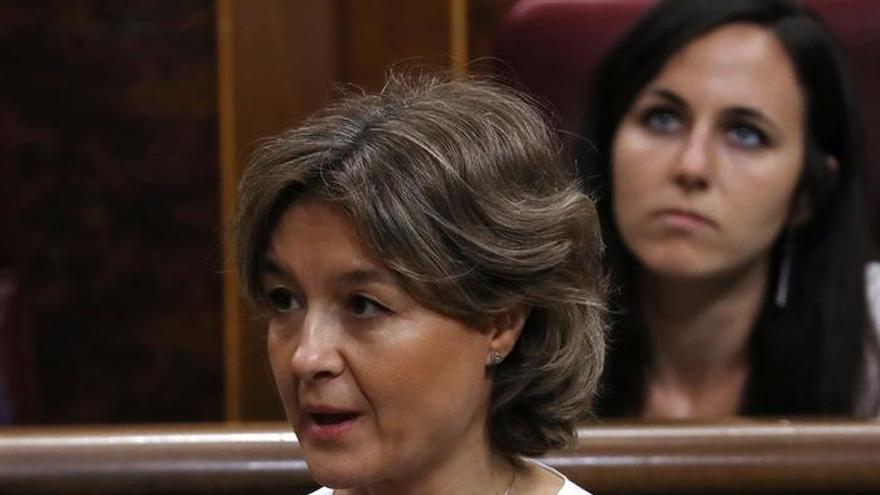 Tejerina defiende la actuación del Gobierno en el incendio de Moguer (Huelva)