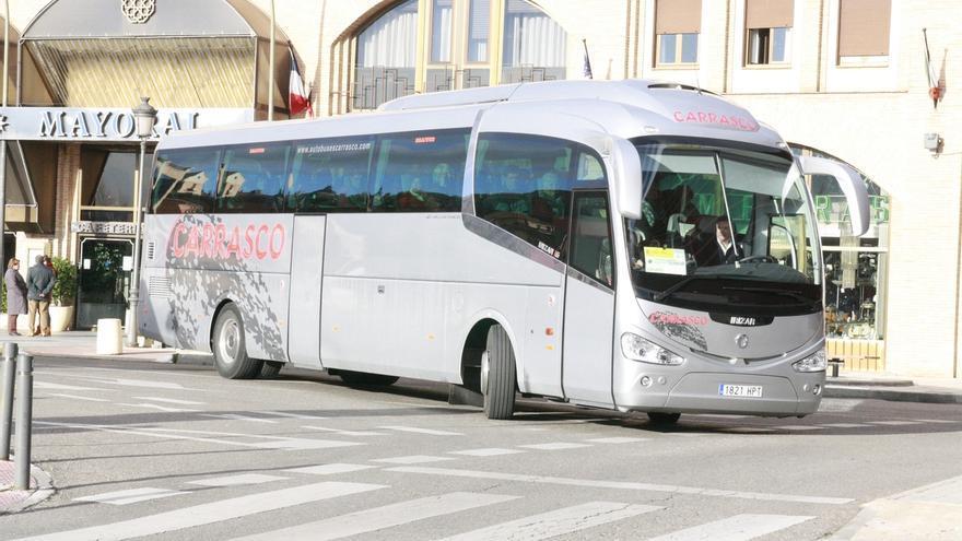 Castilla-La Mancha reduce más frecuencias en el transporte de viajeros de cara a la Semana Santa