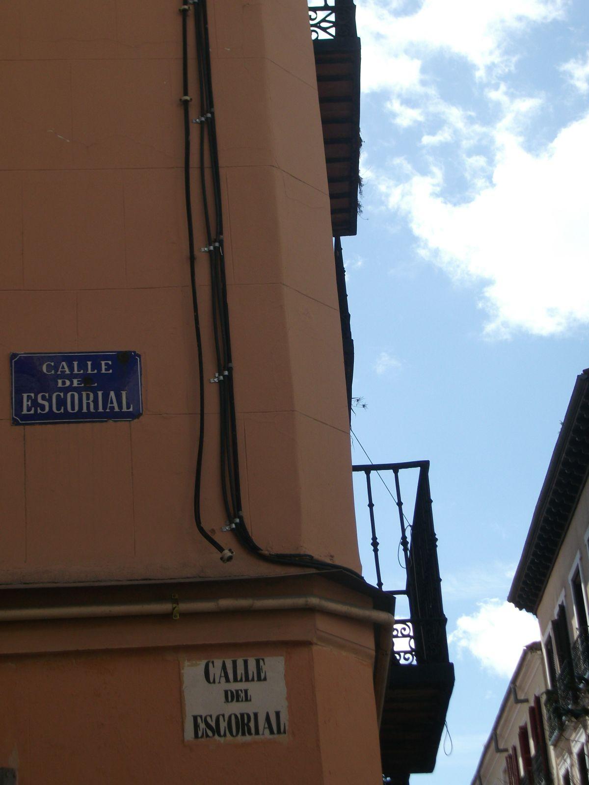 Esquina de la calle Escorial | CARPETANIA