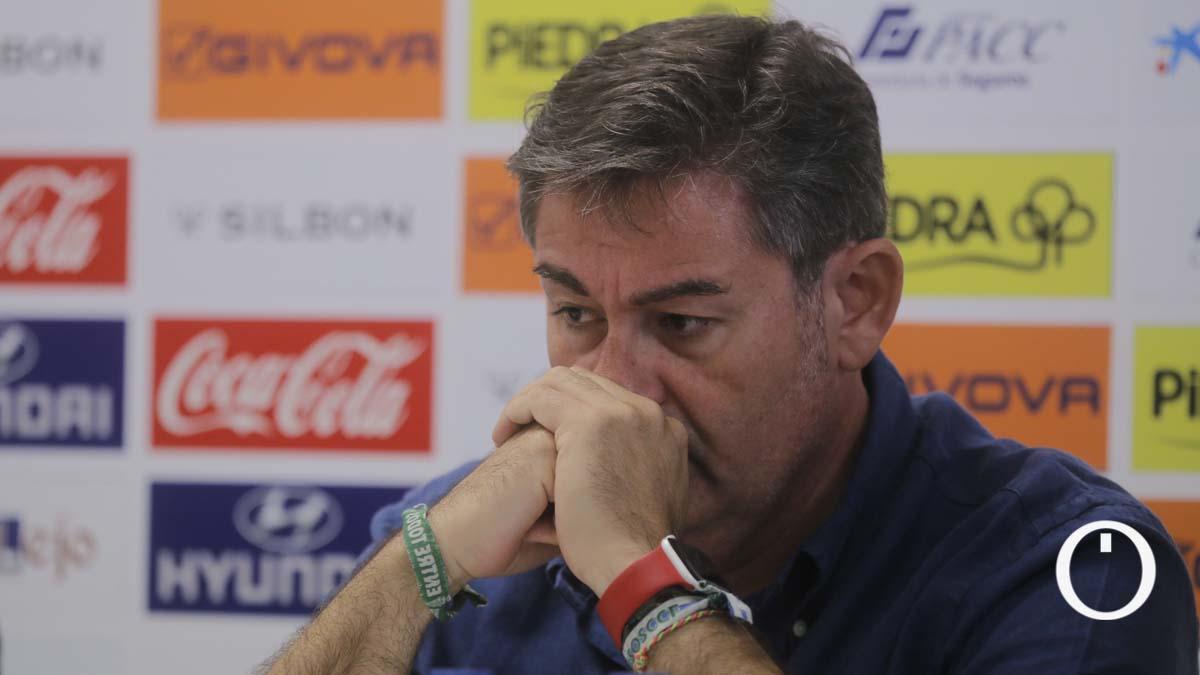 Javier González Calvo, en el adiós de Miguel Valenzuela