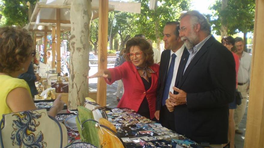 Carmen Riolobos en Talavera de la Reina / EUROPA PRESS
