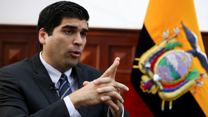 """El Gobierno de Ecuador dice que están logrando """"frenar la pretensión de desestabilizar"""""""