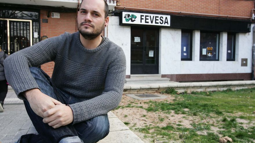 Chema Collados, presidente de la Confederación de Asociaciones de Vecinos, Consumidores y Usuarios de Castilla y León.