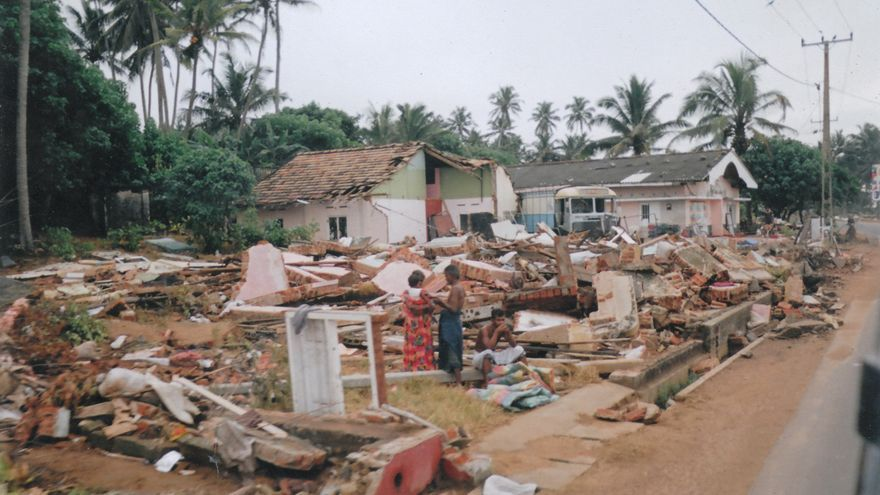 Consecuencias del tsunami de 2004. Foto de 001flyD