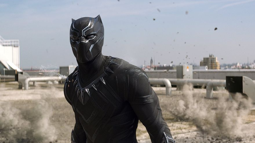 Black Panther hombre