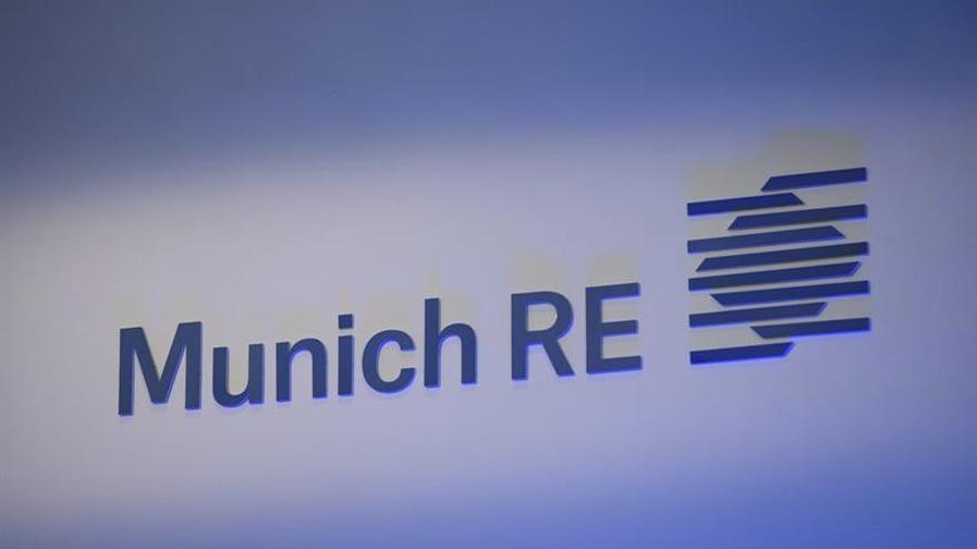 Munich Re gana hasta junio 1.549 millones, un 20,8 por ciento más