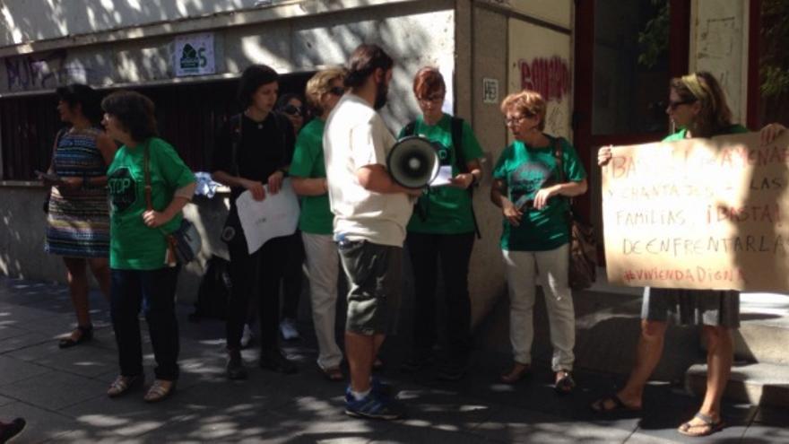 Aconsejan a las personas que se enfrentan a un problema hipotecario que se pongan en contacto con más familias afectadas y que se acerquen a la plataforma / PAH Badajoz