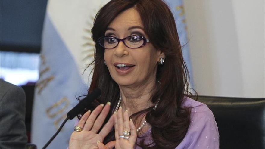 El sueldo de la presidenta argentina aumentó un 25,6 por ciento en 2014