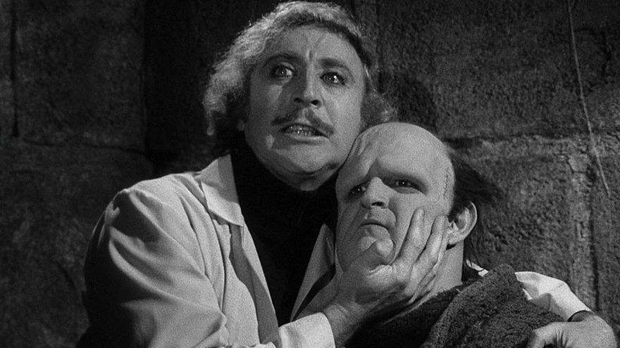 El actor Gene Wilder, en un fotograma de 'El jovencito Frankenstein'