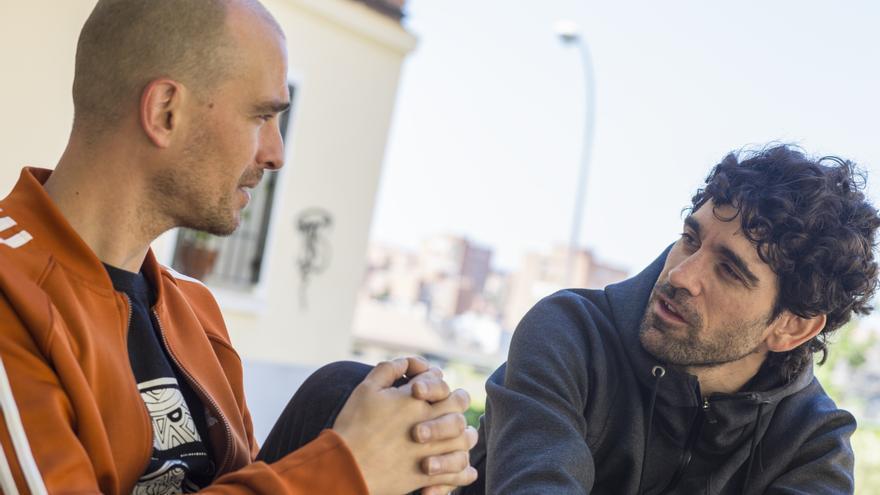 David Ransanz y Adrián Orr, durante la entrevista con eldiario.es