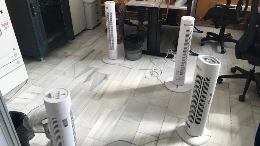 UGT denuncia las altas temperaturas que se registran en los centros de salud de Los Castros y El Zapatón