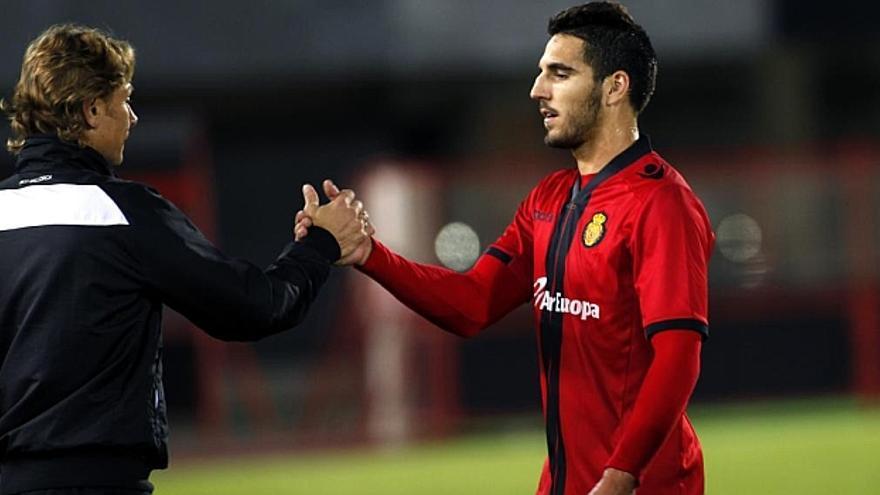 El defensa Pedro Bigas, procedente del Real Club Deportivo Mallorca. (Efe)
