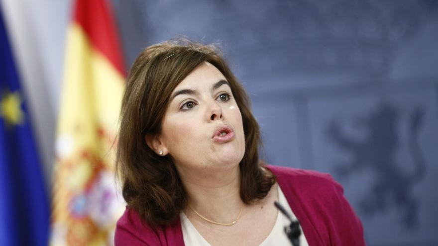 Santamaría dice respetar a la Justicia tras conocer el archivo de la denuncia de su marido por el escrache en su casa