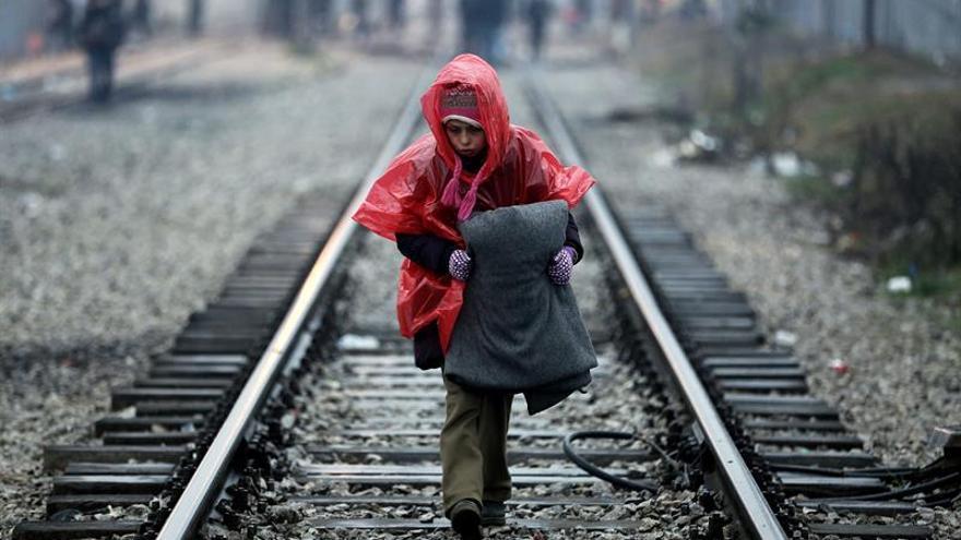Más de 30.000 refugiados están ya atrapados en Grecia ante la frontera cerrada